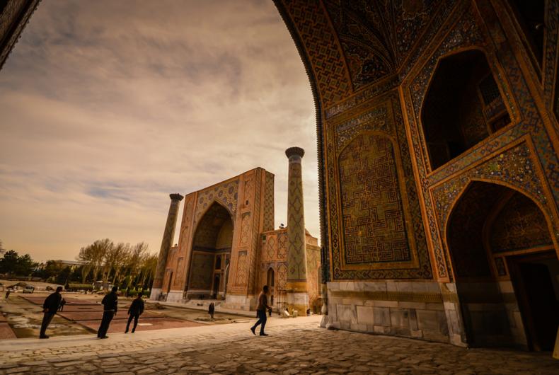 Uzbekistan - Perspectivas De Samarkanda