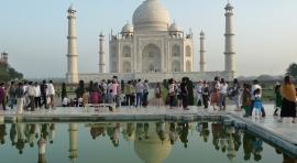 India, triángulo dorado en palacios