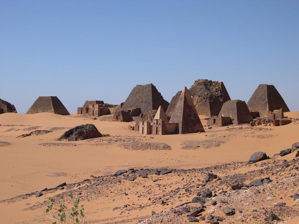 Pirámides de Sudan