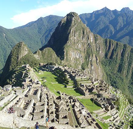 Siguiendo el camino del Inca