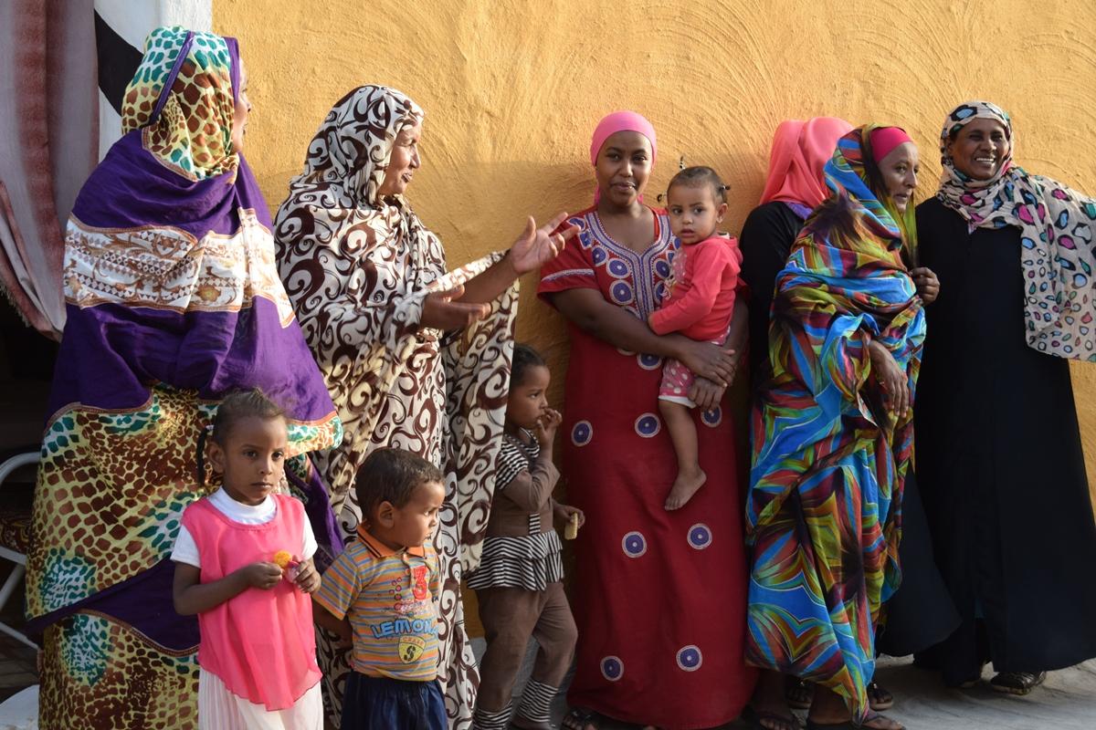 mujeres en sudan