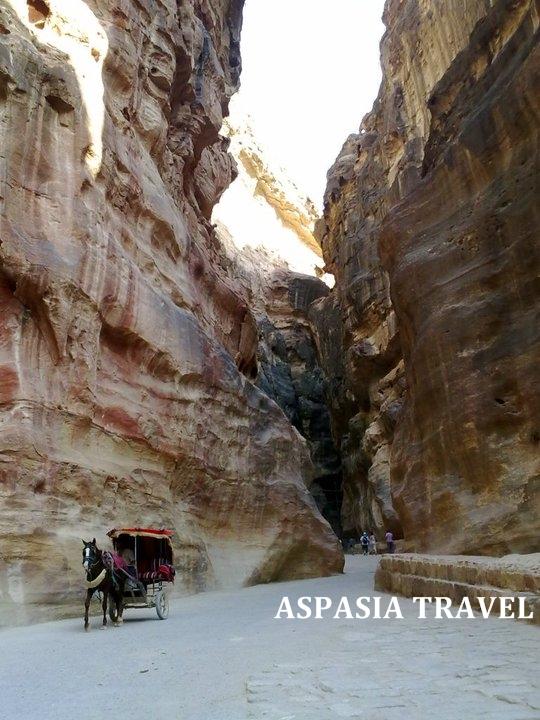 Paseo a caballo en Jordania - Visitas en Petra