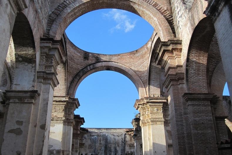 Ruinas En Guatemala