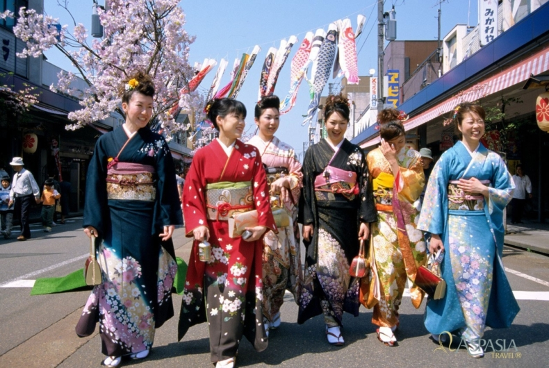 Traje Tradicional De Japon - Kimono - Visitas A Japón