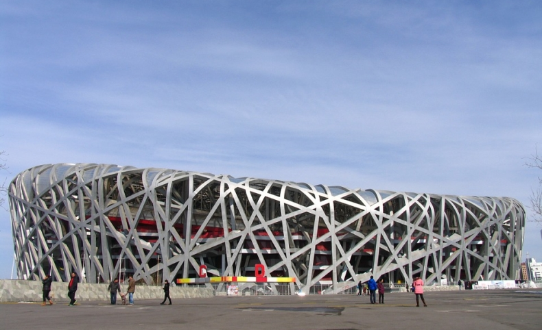 Estadio Olímpico Pequín - Visitas A China