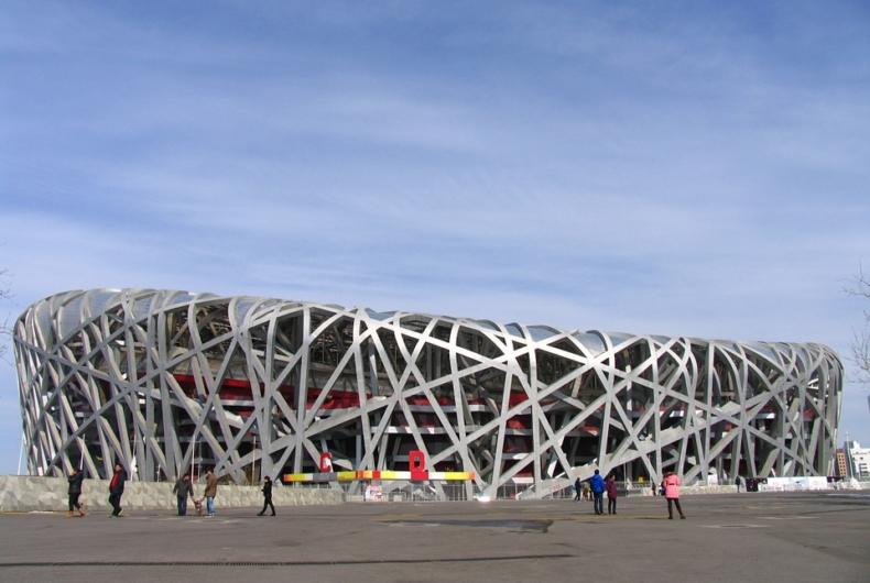 Estadio Olímpico Pequín - Visitas A China