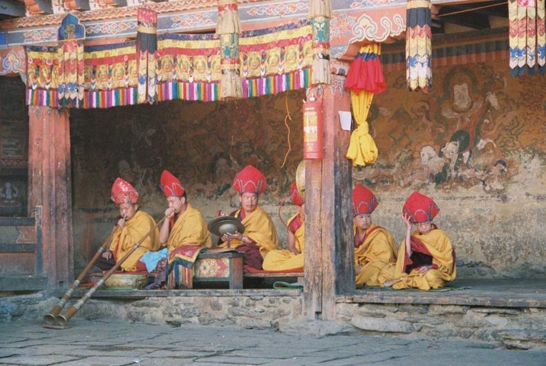 Bailes Típicos De Bután - Viajes A Bután