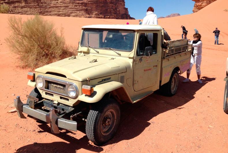 Ruta En 4x4 Por El Desierto De Jordania