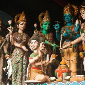 Detalles De Los Templos En Indonesia