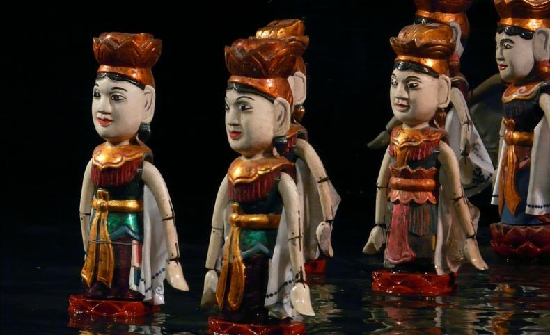 marionetas de agua - Hanoi - Vietnam