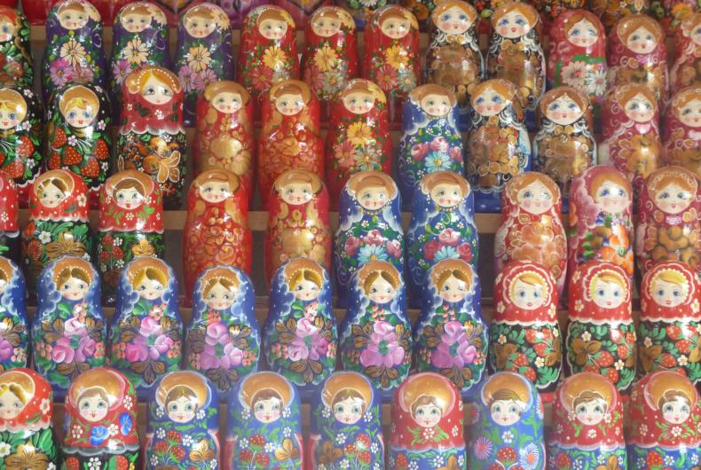 Matriuskas qué comprar en Rusia