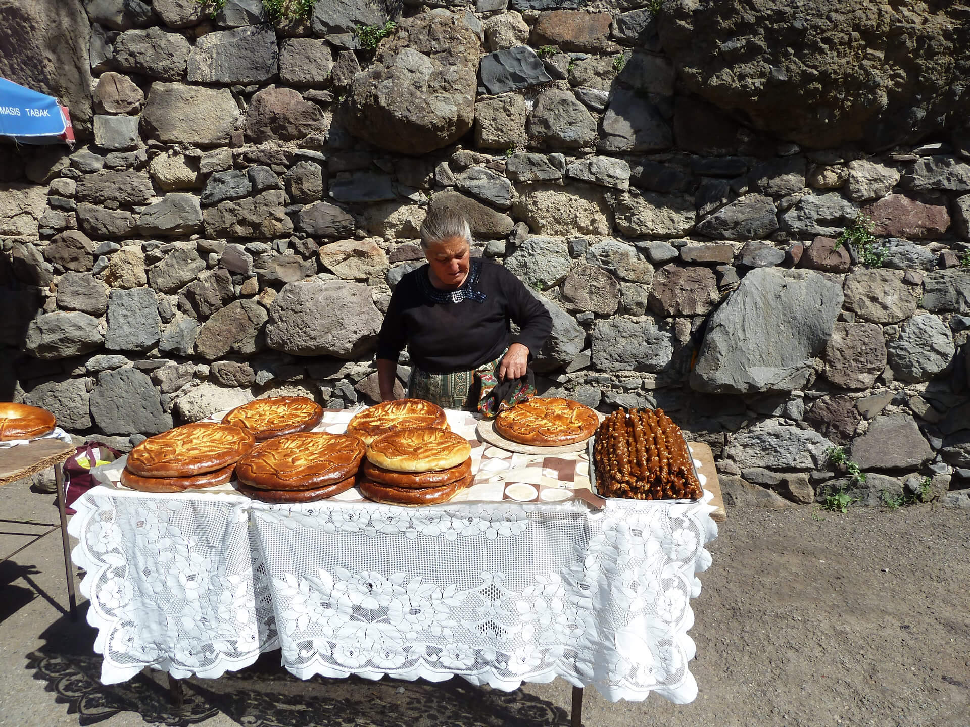 Viajes a Armenia - Pan Lavash
