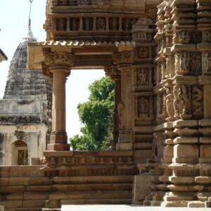 Templo De Khajuraho Con Aspasia Travel