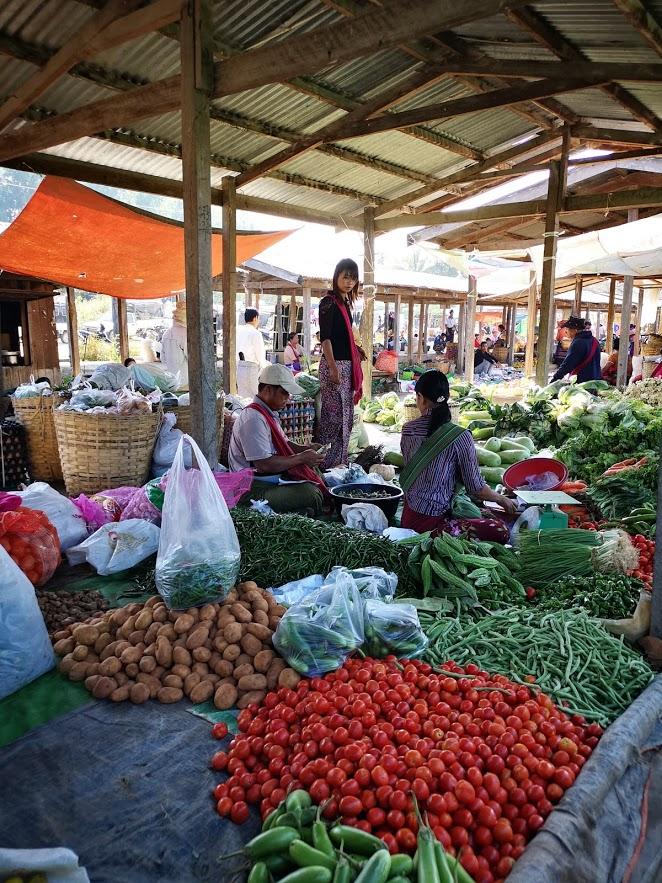 mercado viaje myanmar