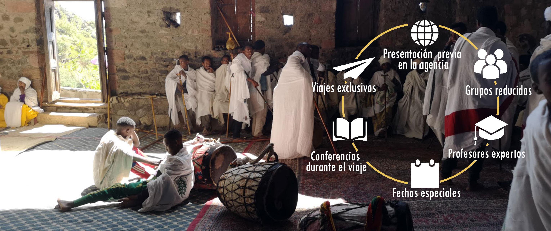 Etiopia, Timkat - viajes con profesor